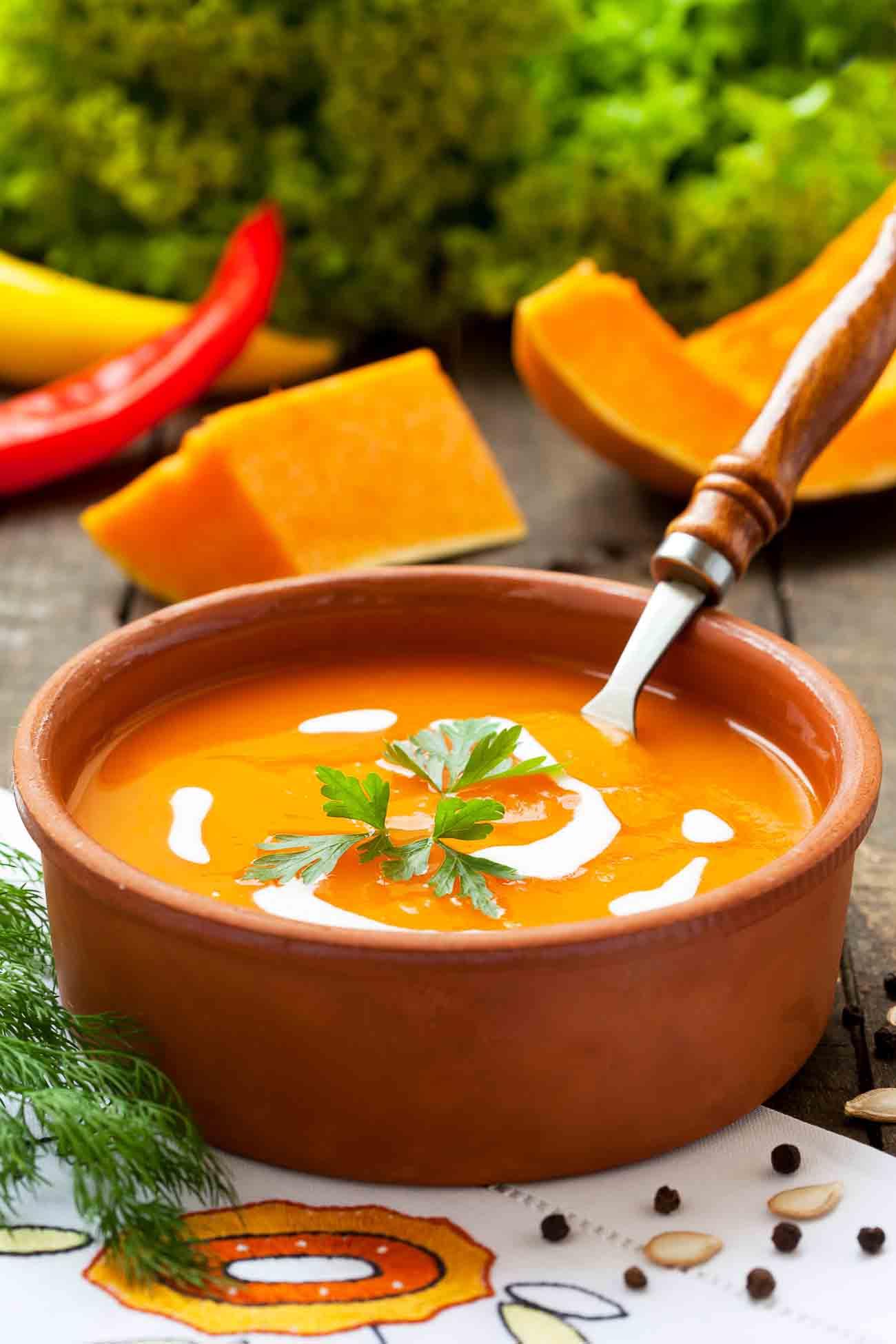 Cream Of Pumpkin Soup Recipe By Archana S Kitchen