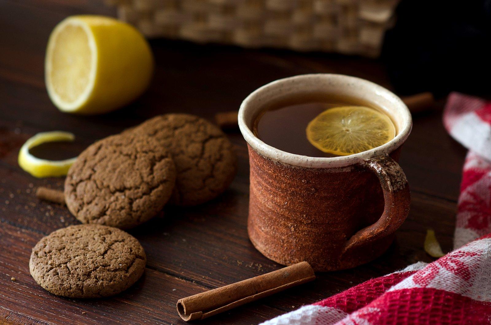Cinnamon Spiced Black Lemon Tea Recipe By Archana S Kitchen