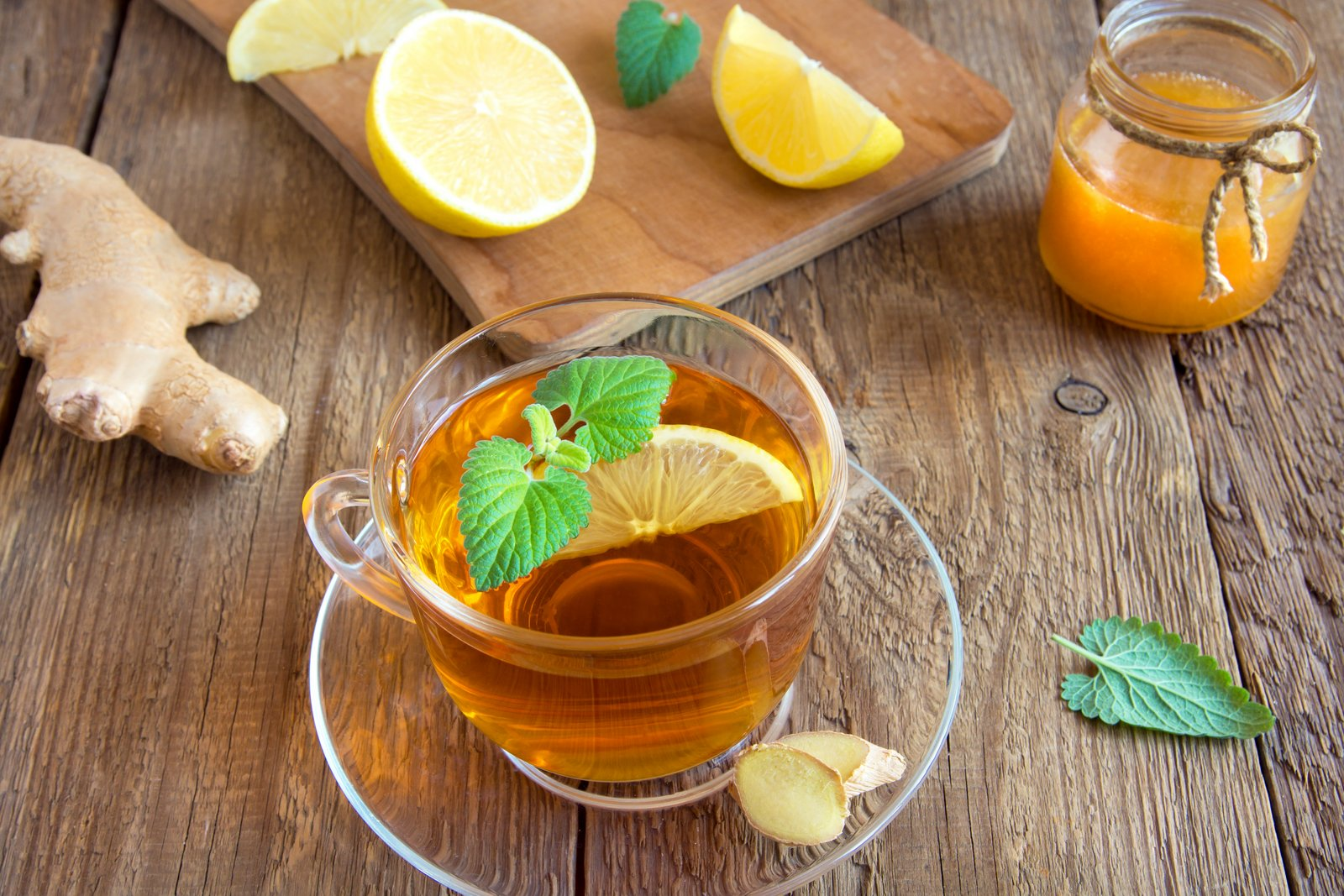 Ginger Lemon Black Tea Recipe