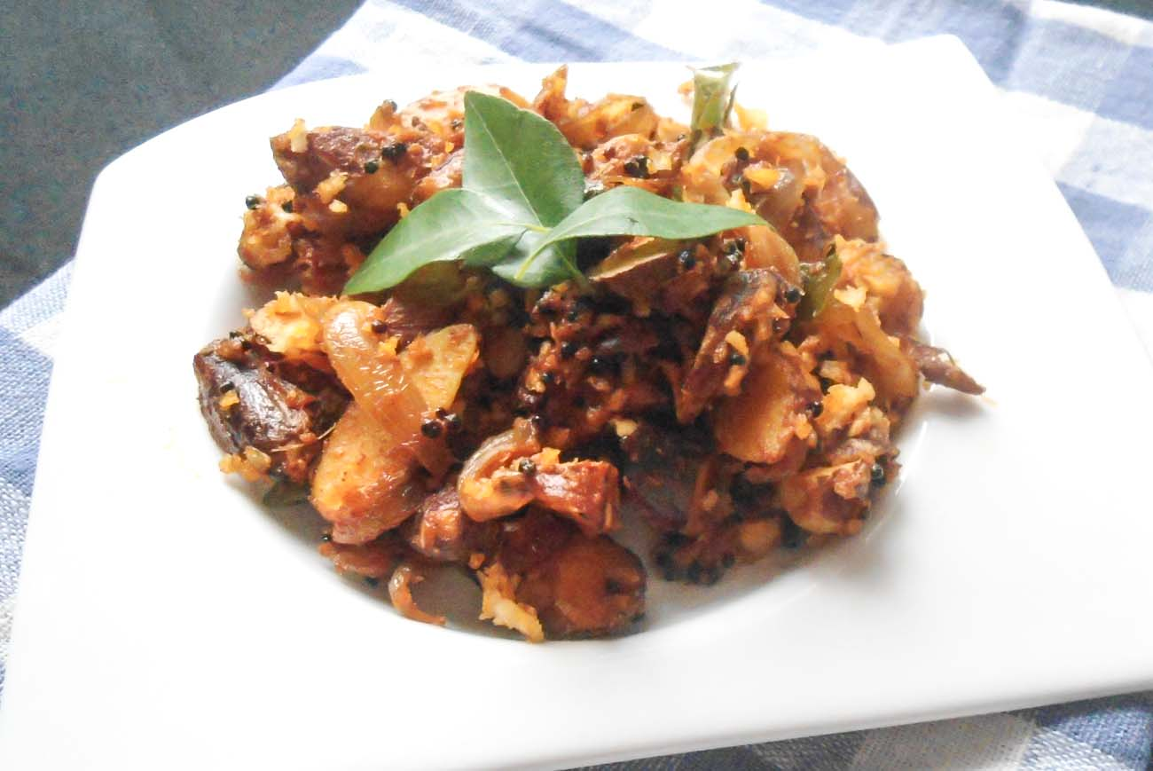Kerala Style Jack Fruit Seeds Stir Fry Recipe