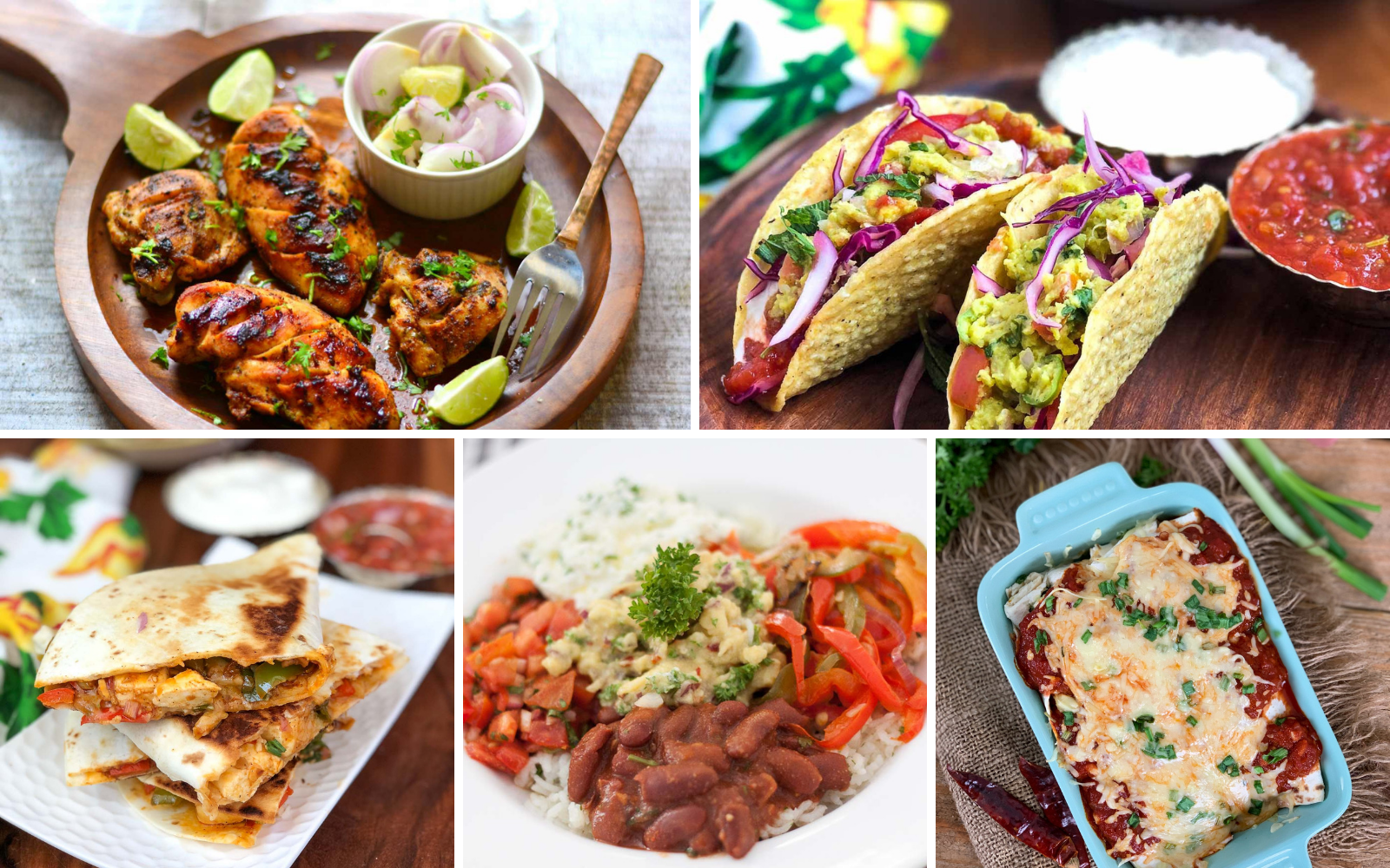 23 Lip Smacking Mexican Vegetarian Recipes For Weekend Dinners