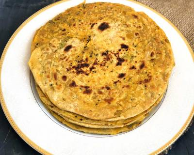 Achari Lachha Paratha Recipe-Spicy Indian Style Flaky Bread