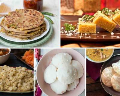 8 Scrumptious Breakfast Ideas From Different States Of India