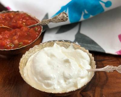 Homemade Healthy Sour Cream Recipe