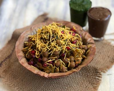 Kala Chana Chaat Recipe-Chatpata Healthy Street food