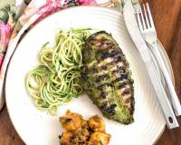 Basil Pesto Grilled Chicken Recipe