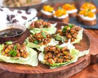 PF Chang's Style Crispy Chicken Lettuce Wraps Recipe