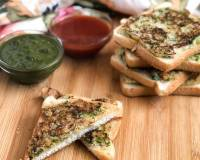 Rock Toast Recipe - Semolina Bread Toast