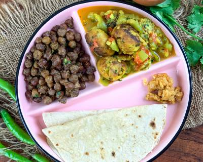 Taste Ayurveda With This Meal Of Turia Muthiya Shaak, Kala Chana And Phulka
