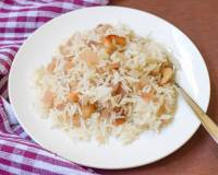 Thor Chal Recipe - Banana Stem Pulao Recipe
