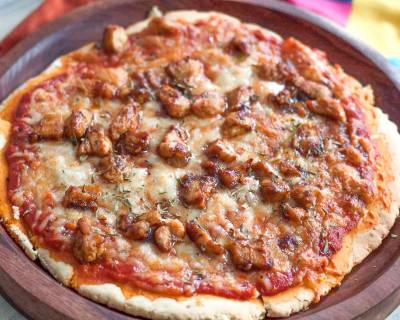 Chicken Barbecue Pizza Recipe