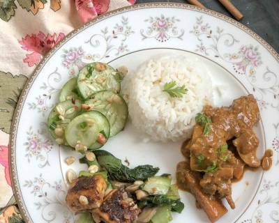 Make This Thai Dinner For A Weekend - Chicken Massaman Curry, Tofu Peanut Stir Fry & Much More