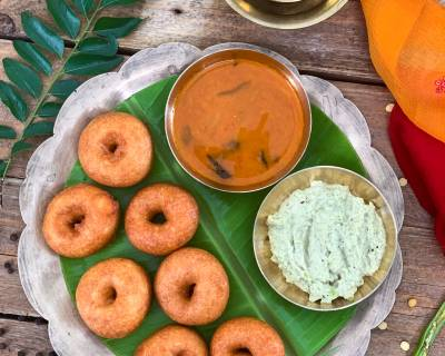 Make Delicious, Fresh And Crispy Vadas Using iD Fresh Vada Batter