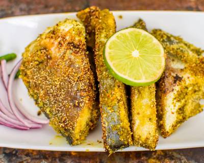 Crispy Pan Fried Pomfret Recipe