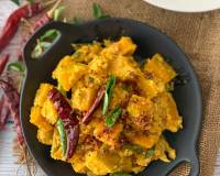 Pumpkin Erissery Recipe - Kerala Pumpkin Coconut Curry