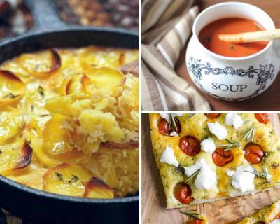 12 Continental Dinner Ideas With Au Gratin, Soup, Bread & Dessert