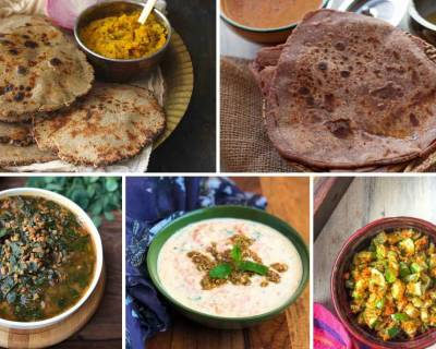 18 Diabetes Meal Ideas With Millet Roti Sabzi Combination