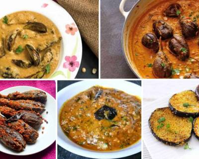 Delicious South Indian Brinjal Recipes