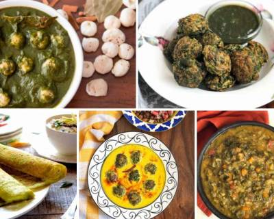 123 Palak Recipes From Snacks | Curry | Sabzi | Breakfast & More