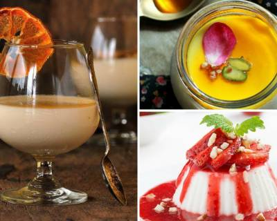 10 Panna Cotta Recipes To End Dinner With A Sweet Note