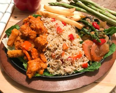 Dragon Chicken Sizzler Recipe