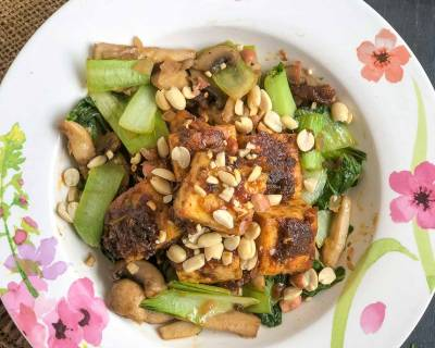Tofu Peanut Stir Fry Recipe