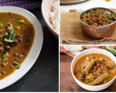 9 Mouth Watering Black Chickpea Gravy Recipes For Your Everyday Meals