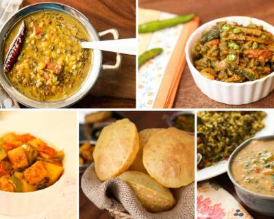 6 Tasty & Comforting North Indian Dals, Sabzi & Side Dish Combinations