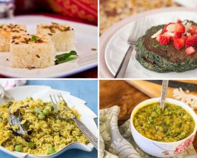 Plan Your Weekly Meals With Sago Khichdi, Palak Dal & More