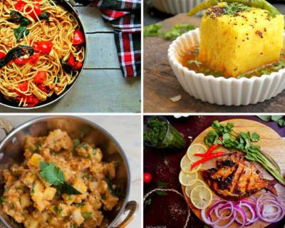 Plan Your Weekly Meals With Ringan Ravaiya, Spinach Lemon Spaghetti & More
