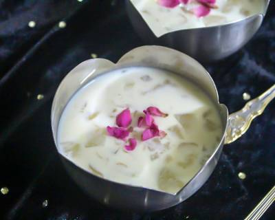 Nungu Payasam Recipe - Ice Apple/ Tender Palm Fruit Payasam
