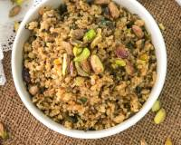 Pistachio & Cranberry Broken Wheat Pilaf Recipe