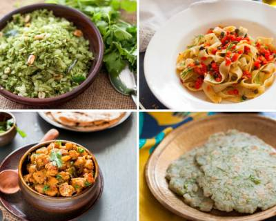 Plan Your Weekly Meals With Matar Masala, Hurali Saaru & More