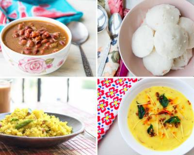 Easy & Tasty Weekly Meal Plan With Aloo Poha, Rajma Masala And Much More