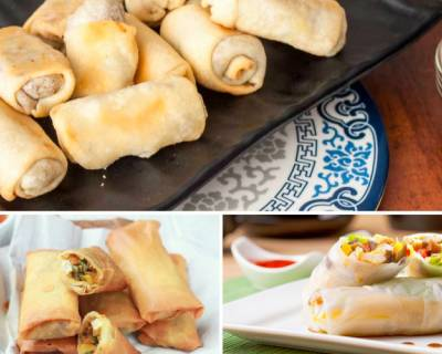 7 Spring Roll Recipes To Serve As An Appetiser During Your House Parties