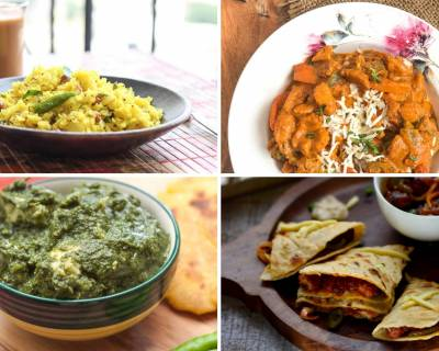 Weekly Meal Plan - Sarson Ka Saag, Veg Makhanwala And Much More