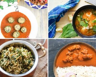 Weekly Meal Plan: Bharwa Karela Makhani, Spinach Rice And Much More