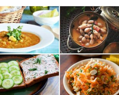 Weekly Meal Plan: Paneer Pav Bhaji, Verusenaga Sambar & More