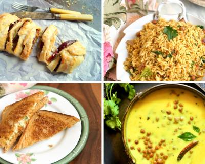 Weekly Meal Plan: Kale Chane Ki Kadhi, Apple Danish Pastry And Much More