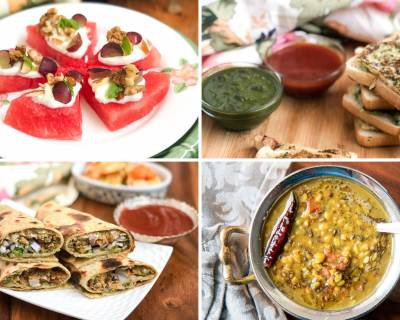 Weekly Meal Plan: Dal Banjara, Chatpata Kala Chana Roll and Much More
