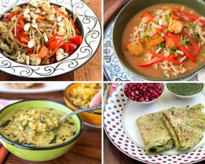 Weekly Meal Plan: Aglio E Olio Pasta, Spicy Ramen With Tofu, Gujarati Khatta Mag And Much More