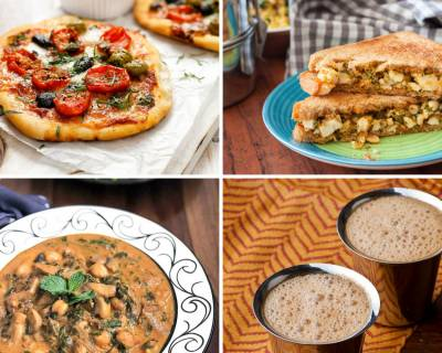 Weekly Meal Plan : Mini Pizza, Broccoli Paneer Peanut Sandwich And Much More