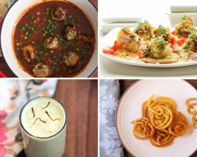 Weekly Meal Plan - Vegetable Manchurian, Sev Puri, Jalebi And Much More