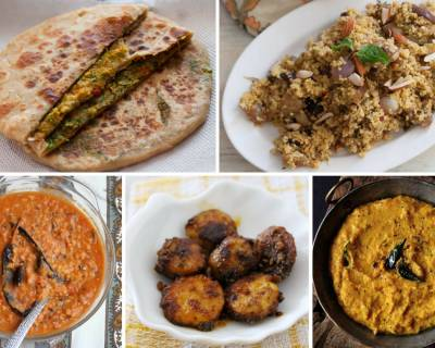 Weeknight Dinners: Make Your Meals With Broccoli and Dill Stuffed Paratha, Ridge Gourd Peel Chutney & More