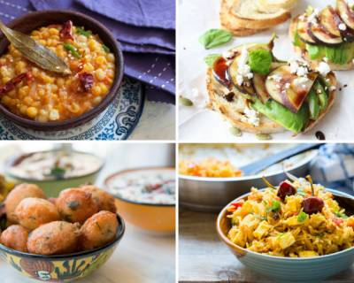 Plan Your Weekly Meals With Mushroom Tikka Masala, Green Peas Biryani & More