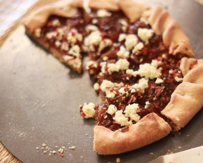 Caramelized Onion Tart with Ricotta Cheese Recipe