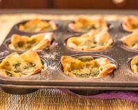 Cheese and Spinach Tart Recipe