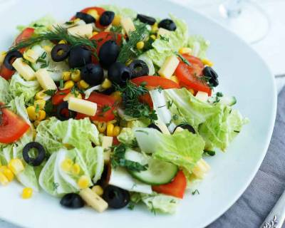 Delicious Avocado Salad Recipe with Vegetables