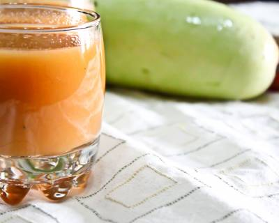 Gajar Lauki Juice Recipe - Bottle Gourd Carrot Juice