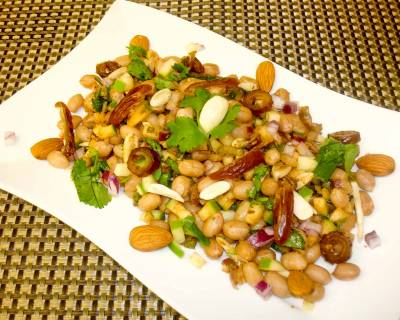 Chilled and Spicy Peanut Chaat